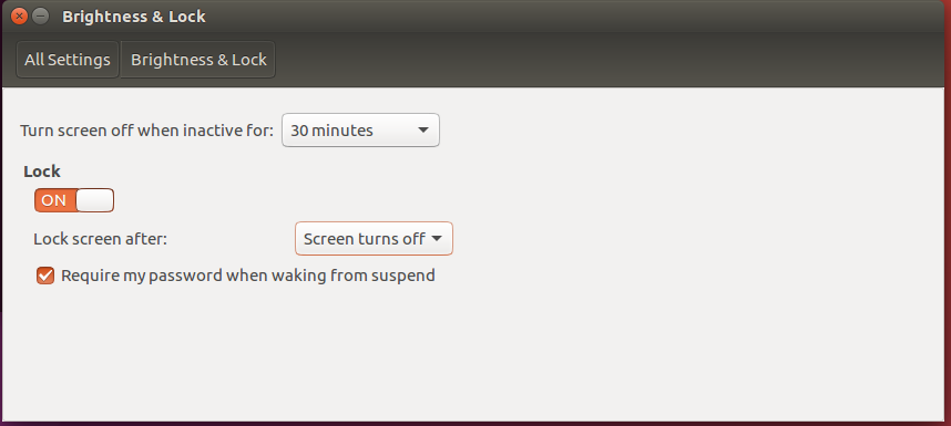How to change screen timeout on Ubuntu desktop