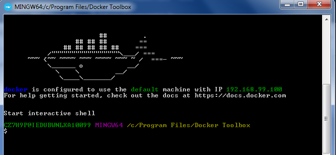 How to install docker on windows 7