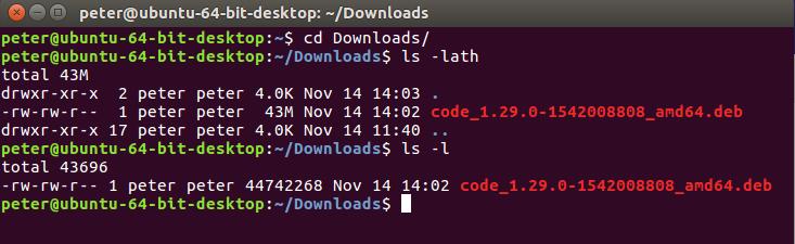 Install visual studio code on ubuntu 16.4 desktop-image005