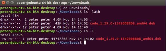 Install visual studio code on ubuntu 16.4 desktop-image006