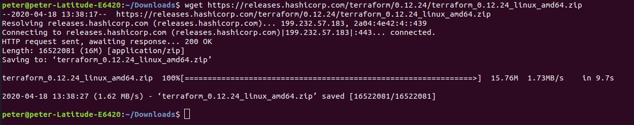 How to install Terraform on Ubuntu 18.04