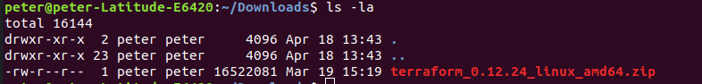 How to install Terraform on Ubuntu 18.04_3